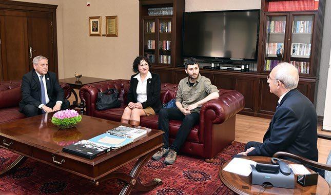 ÖDP'den Kılıçdaroğlu'na geçmiş olsun ziyareti