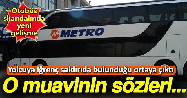 Otobüste cinsel saldırı olayında yeni gelişme