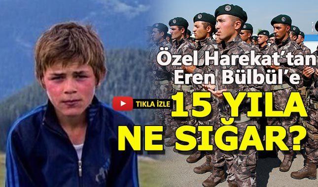 Özel Harekat'tan Eren Bülbül için ağlatan video
