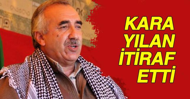 PKK köşeye sıkışınca Karayılan itiraf etti