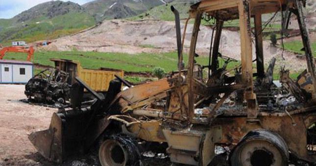 PKK şantiye bastı 25 işçi kayıp!
