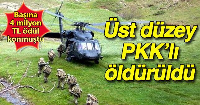 PKK'ya büyük darbe! Üst düzey yönetici Ekrem Güney öldürüldü