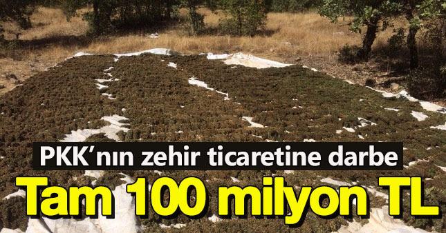 PKK'ya mali darbe