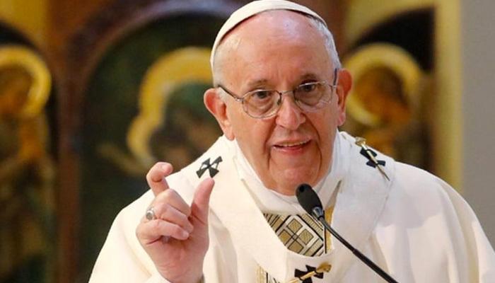 Papa'dan tüketim çılgınlığına eleştiri