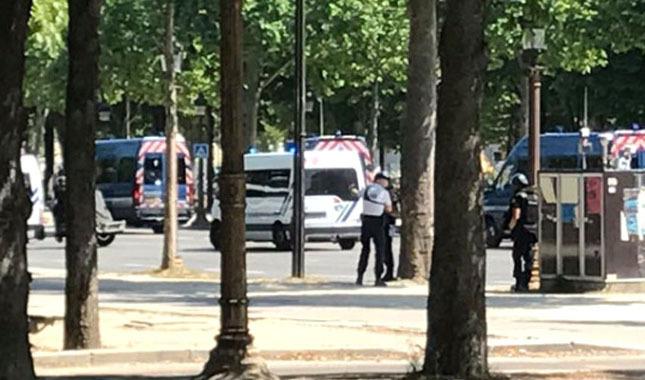 Paris'te terör alarmı! Cumhurbaşkanlığı sarayında büyük panik