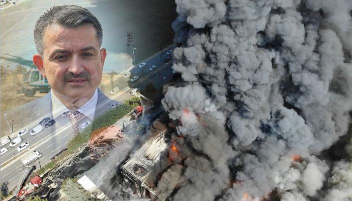 Pendik'teki yangında terör bağlantısı!