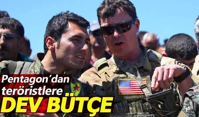 Pentagon, YPG'li teröristlere dev bütçe ayırdı