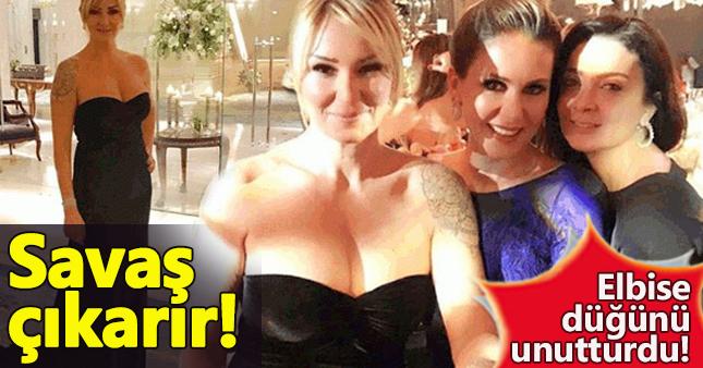 Pınar Altuğ'un elbisesi gündem oldu!