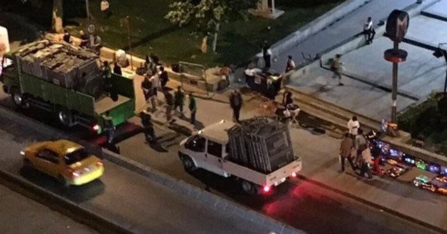 Polisin Gezi Parkı önlemi