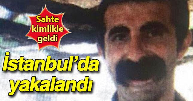Polisleri şehit eden PKK'lı terörist yakalandı