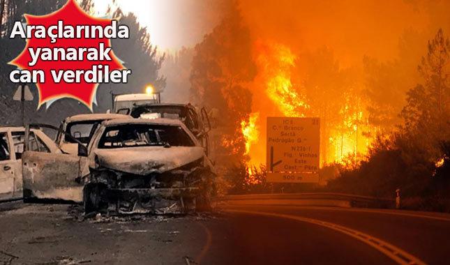 Portekiz'de korkunç yangın bilançosu: 61 ölü