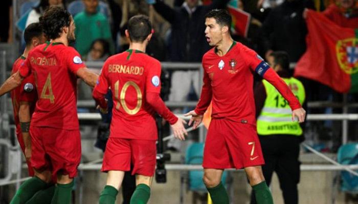 Portekiz'den asker selamı! UEFA ne diyecek?