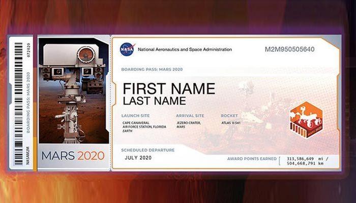 Postal Code ne demek | mars 2020 isim yazdırma | nasa 2020 ticket