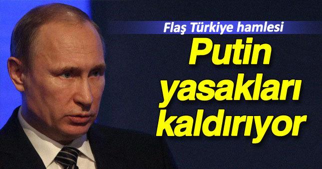 Putin'den flaş Türkiye hamlesi