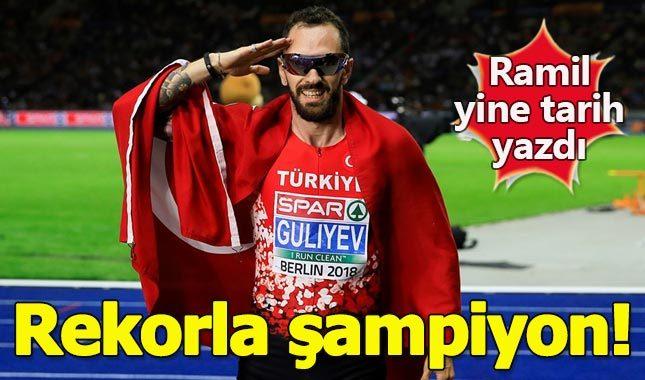 Ramil Guliyev Avrupa şampiyonu oldu (Ramil Guliyev kimdir aslen nereli kaç yaşında?)