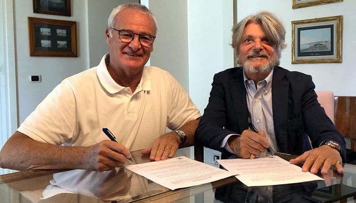 Ranieri Sampdoria'ya imzayı attı