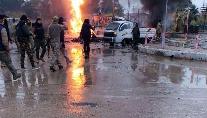 Rasulayn'da bombalı saldırı