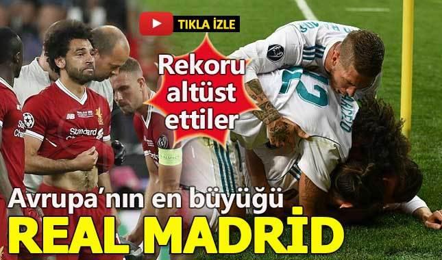 Real Madrid 3-1 Liverpool Maç Özeti - 2018 Şampiyonlar Ligi Finali