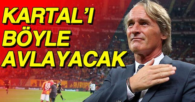 Hollanda'lı teknik adam hafta sonu oynanacak derbi öncesi Beşiktaş taraftarını kırmadı