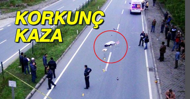 Rize'de korkunç kaza!