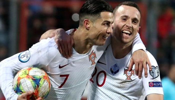 Ronaldo 99 yaptı! Portekiz Euro 2020'de!
