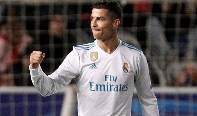 Ronaldo, bir rekoru daha egale etti