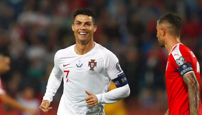 Ronaldo yeni rekora göz kırptı