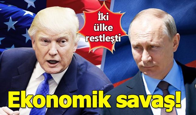 Rus ve ABD arasında ekonomik savaş mı çıkıyor?