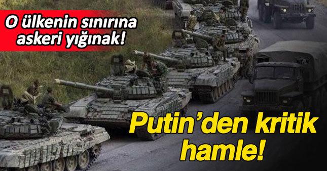 Rusya, Ukrayna sınırına askeri yığınak yapıyor