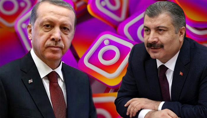 Sağlık Bakanı Koca'nın takipçi sayısı Erdoğan'ı geçti