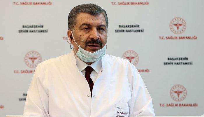 Sağlık Bakanı Koca'dan vatandaşlara maske uyarısı