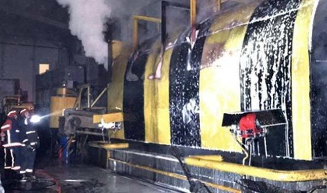 Sakarya'da fabrikada korkutan yangın!