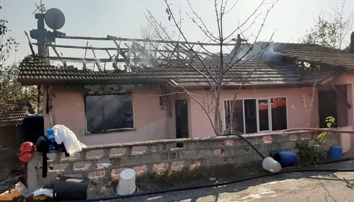 Sakarya'da yangının acı sonucu! 2 çocuk öldü!