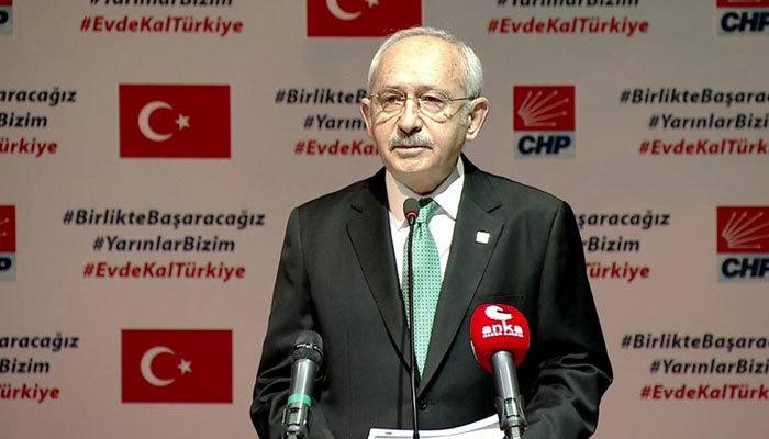 Kılıçdaroğlu: Salgında işçi çıkarma yasaklansın