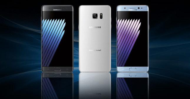 Samsung Note 7 ilk kez reklamlarda