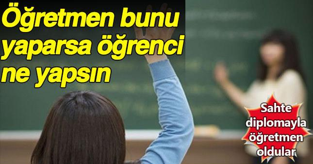 Şanlıurfa'da 30 öğretmen sahte diploma suçundan gözaltına alındı
