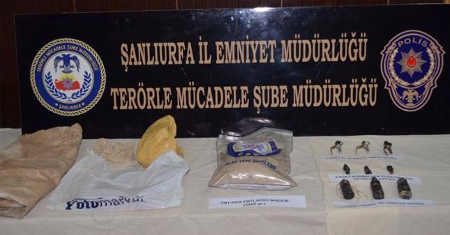 Şanlıurfa'da canlı bomba yakalandı | Şanlıurfa son dakika