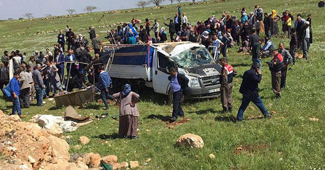 Şanlıurfa'da korkunç kaza: 4 ölü, 8 yaralı