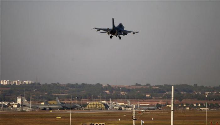 Savaş uçakları 30 kilometre ilerledi
