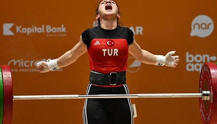 Şaziye Erdoğan halter dünya şampiyonu oldu