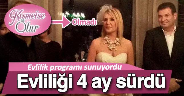 Seda Akgül'ün evliliği sadece 4 ay sürdü