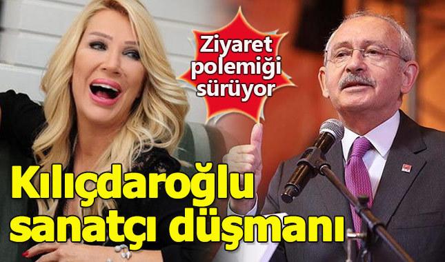 Seda Sayan Kılıçdaroğlu'nu sanatçı düşmanı ilan etti