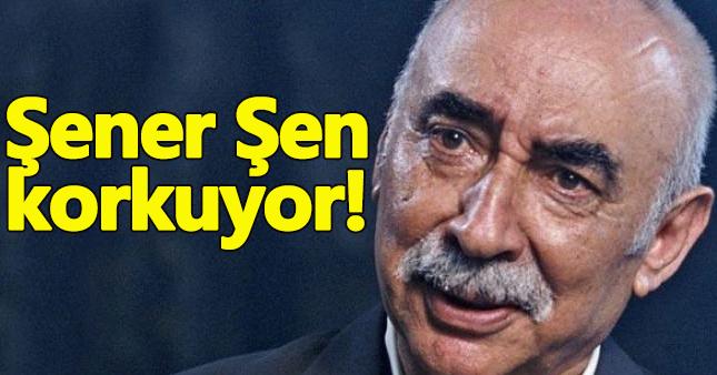 Şener Şen: Artık korkuyorum