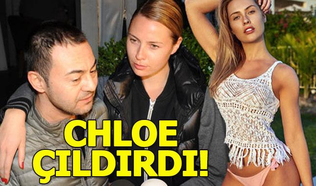 Serdar Ortaç'ın eşi Chloe Loughnan bu yoruma kızdı: Biraz da kocanla ilgilen!