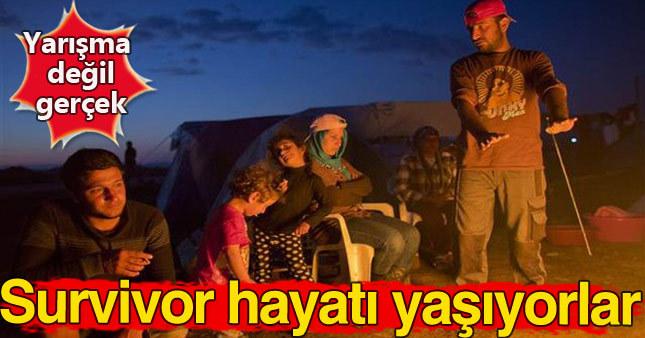 Sığınmacıların hayatı survivor yarışmasını aratmıyor