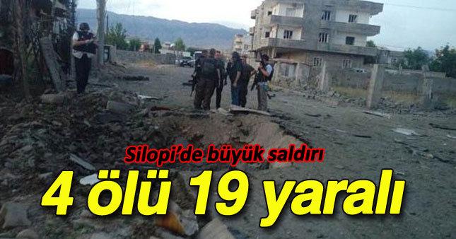 Silopi'de bombalı saldırı