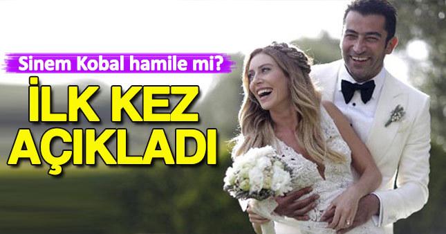 Sinem Kobal hamilelik iddialarına ilk kez yanıt verdi!
