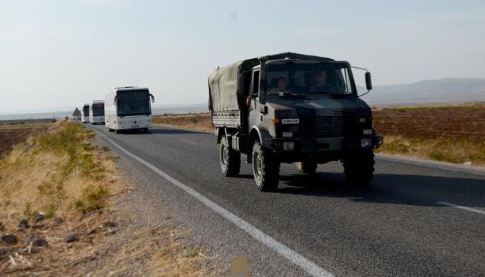 Sınıra asker desteği devam ediyor