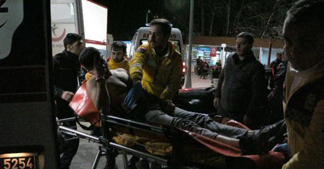 Şişli'de polisten kaçan şüpheli bacağından vuruldu