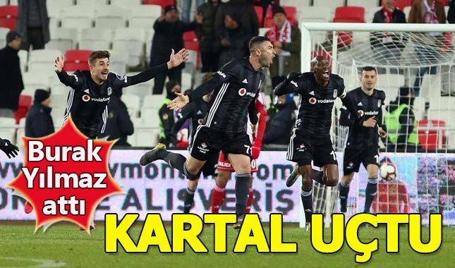 Sivasspor 1-2 Beşiktaş Maç Özeti izle